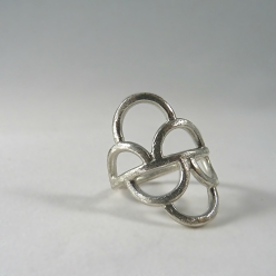 Mermaid Ring in Sterling Silver