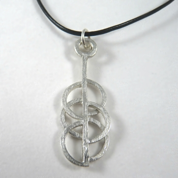 Sterling Sacred Geometry Pendant